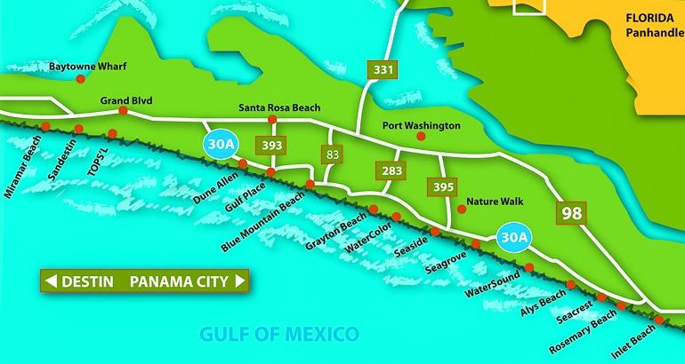 30A Santa Rosa Beach Florida